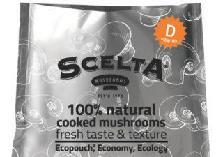 scelta mushrooms cooked ecopouch