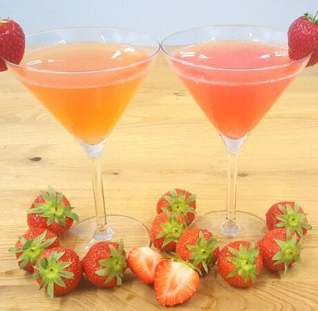 cocktails strawberry