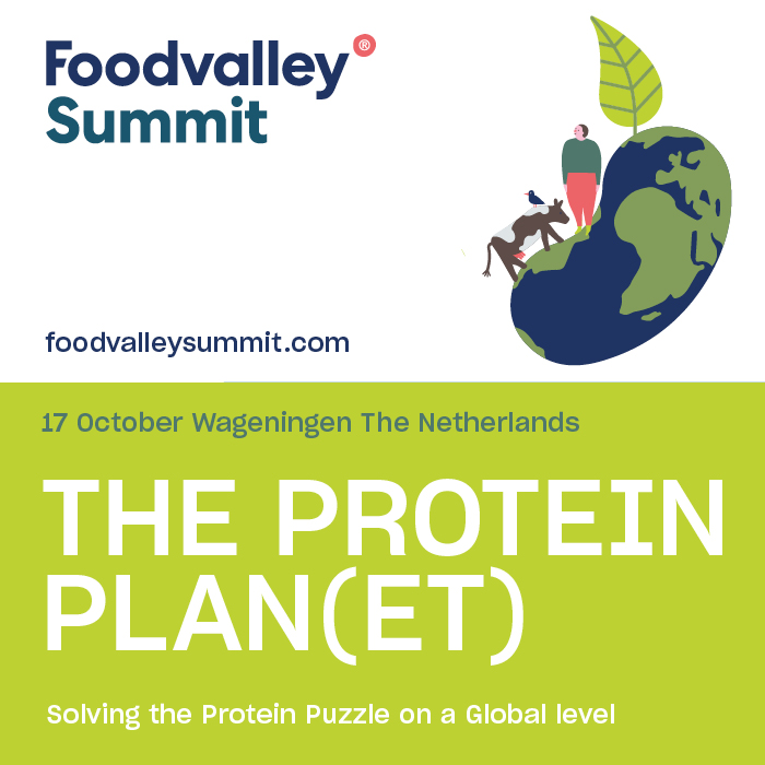 Foodvalley Summit The Protein Planet 17 October 2019 The