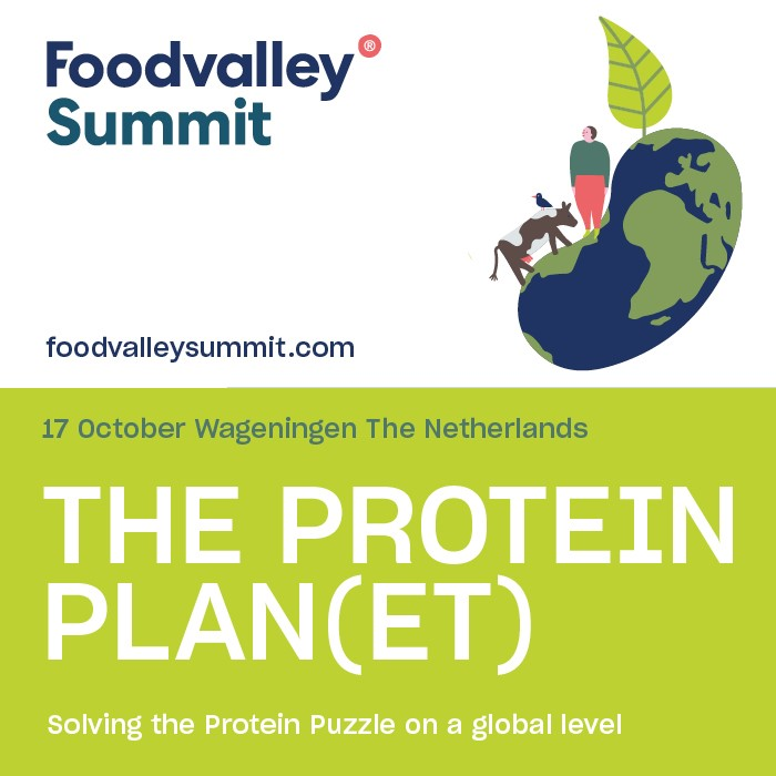 Foodvalley Summit The Protein Plan(et) 17 October 2019 The