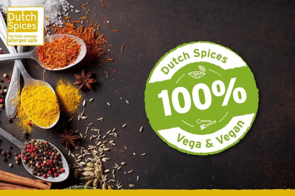Dutch Spices vegetarian and vega