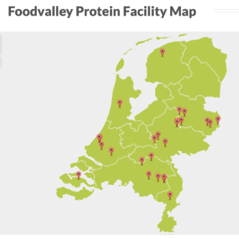 foodvalley protein facility map protein cluster netherlands